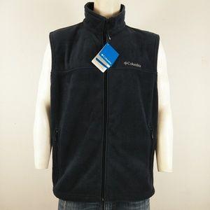 Columbia NWT blue men's zip up sweater vest